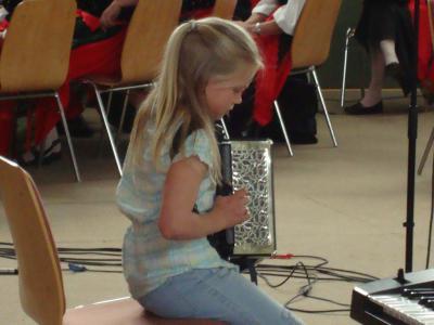 Foto zur Meldung: Junge Talente an der Golzower Grundschule