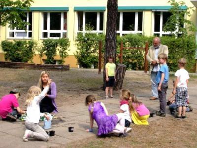 Foto zur Meldung: Frühling in der Grund- und Oberschule Schenkenland