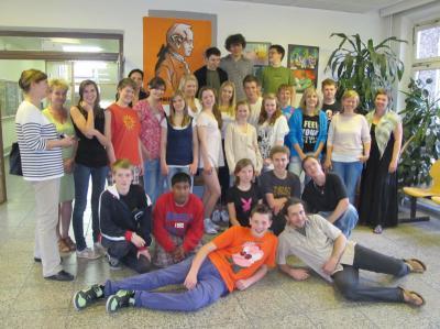 Foto zur Meldung: Leserbrief der Kant-Gesamtschule: Deutschland, diesmal anders - Erster Schüleraustausch der Stasjonsfjellet-Skole Oslo/Norwegen an der Kantschule Falkensee