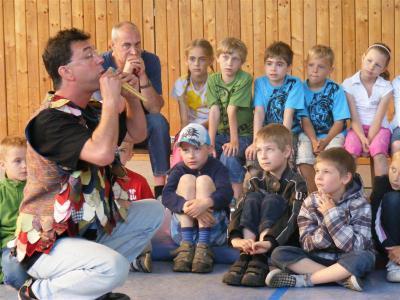 "Foto zu Meldung: Kinderoper- Workshop ""Die Zauberflöte"