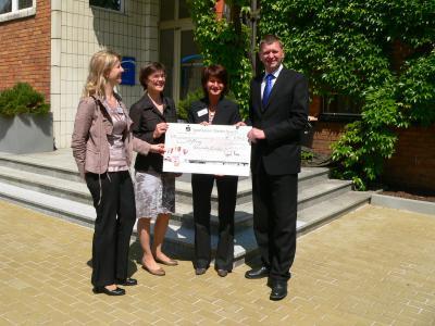 6543 Euro für Stiftung Gesunde Kinder
