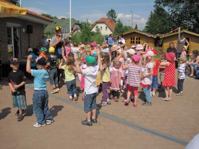 Bild der Meldung: Ein tolles Geburtstagsfest feierte die Kita Birkenkindergartenstein