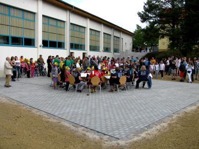 Foto zur Meldung: Hoffest an der Grund- und Oberschule Schenkenland