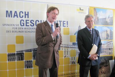 """Bild der Meldung: Empfang in Humboldt-Box anlässlich """"Preis vom Berliner Schloss"""""""