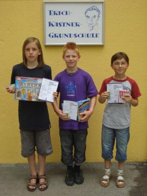 Foto zu Meldung: Känguru-Wettbewerb 2011 für Kästnerschule erfolgreich