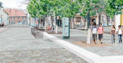 Foto zur Meldung: Neugestaltung des Wittstocker Marktplatzes
