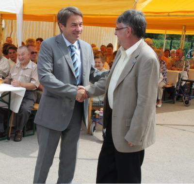 Foto zur Meldung: 15. Stadtseniorenfest