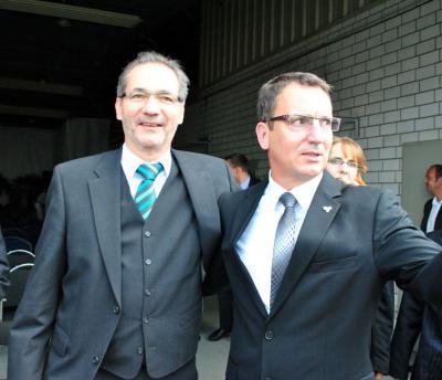 Foto zur Meldung: Ministerpräsident M. Platzeck in der Prignitz