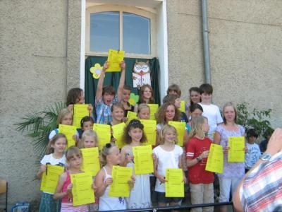 Foto zur Meldung: Schuljahresabschluss an der Otto-Seeger-Grundschule
