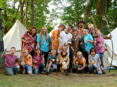 Bild der Meldung: Indianercamp am Zootzensee