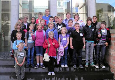 Foto zur Meldung: Sommer-Ferienspiele 2011 – Besuch im Mathematikum Gießen