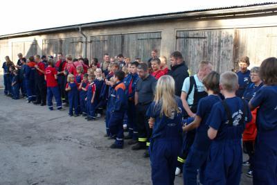 Foto zur Meldung: Nachtwanderung der Jugendwehren in Preddöhl
