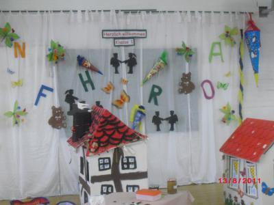 Foto zur Meldung: Einschulung 2011