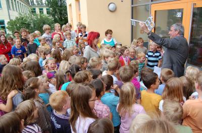 Foto zur Meldung: Scholl-Hort feiert Einweihung