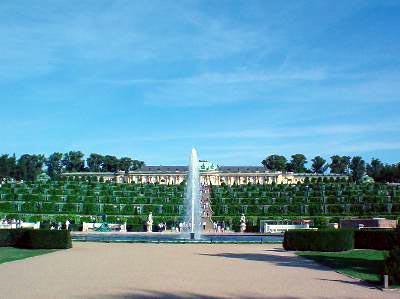 Foto zu Meldung: Neues Besucherzentrum für Sanssouci