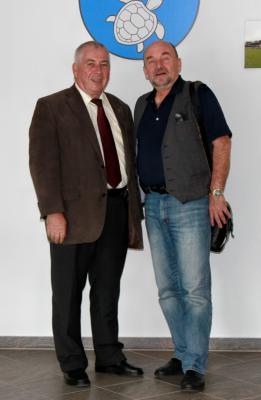 Bild der Meldung: Rainer Eppelmann zu Gast im Rathaus Hoppegarten