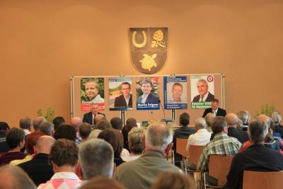 Bild der Meldung: Großes Interesse an den fünf Bürgermeisterkandidaten