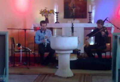 """Foto zu Meldung: """"Feldstein und Musik"""" in der Kirche Werder"""
