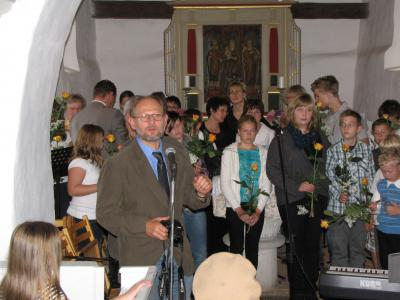Foto zur Meldung: Benefizkonzert in der Gruhnoer Kirche