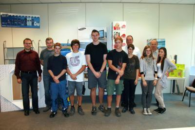 Foto zur Meldung: Sieben neue Azubis bei Firma Schiettinger - Insgesamt 15 Auszubildende