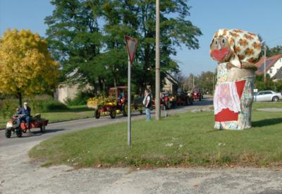 Foto zu Meldung: Erntefest in Rehfelde-Dorf