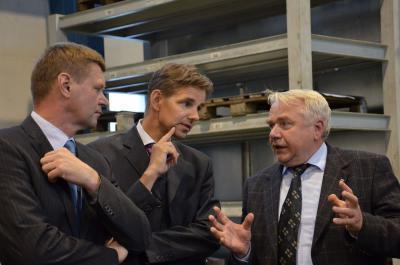 ZukunftsAgentur Brandenburg beeindruckt vom OSL-Potential