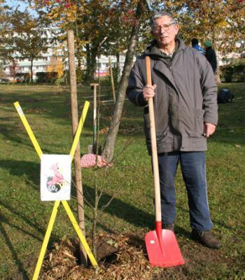 Foto zur Meldung: CO2 Speicher gepflanzt