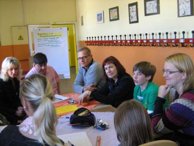 Foto zur Meldung: Zukunftswerkstatt an der Grundschule in Rathenow-West
