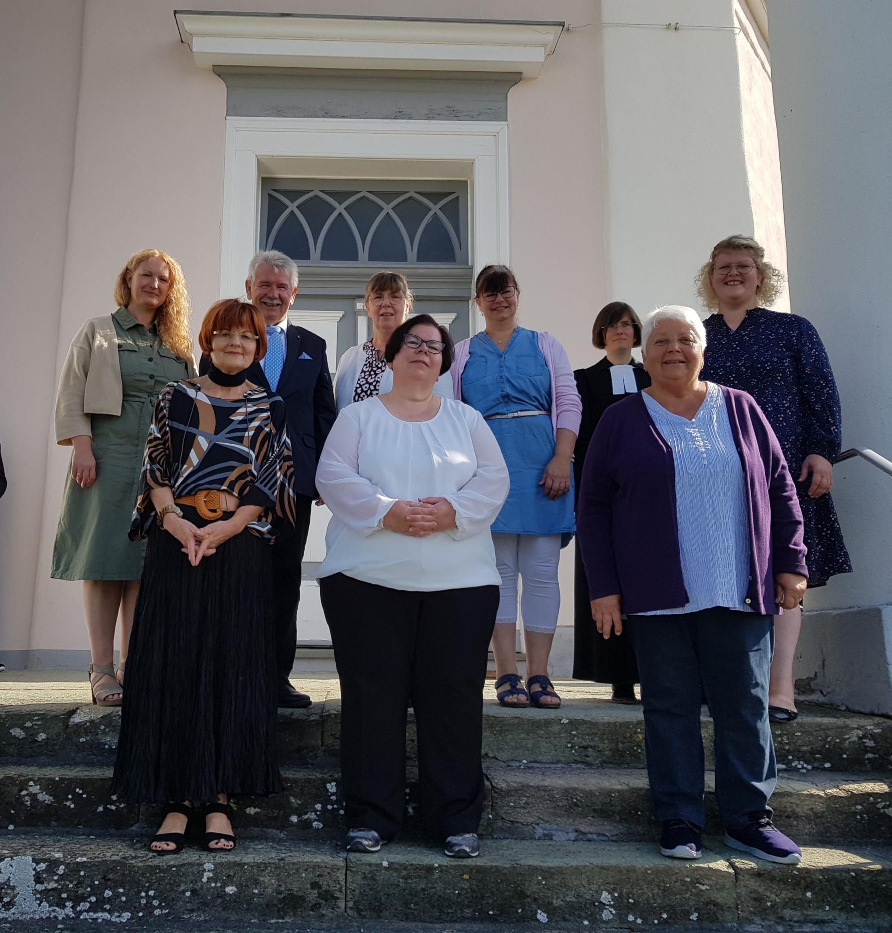 Der alte Kirchenvorstand