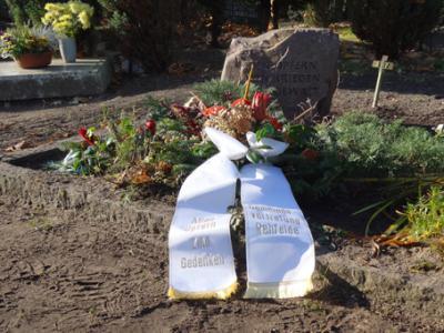Foto zur Meldung: Totengedenken am Volkstrauertag