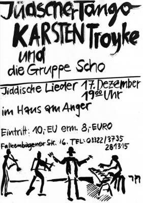 Foto zur Meldung: Konzert mit Karsten Troyke und dem Trio Scho