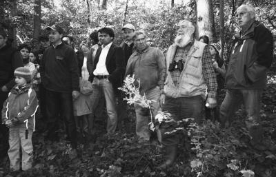 Foto zur Meldung: Waldspaziergang der Gemeinde Biebelried