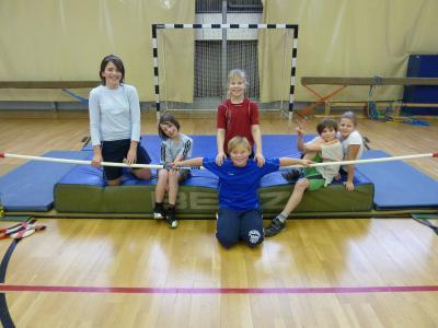 Foto zur Meldung: Schulmeisterschaft im Hochsprung