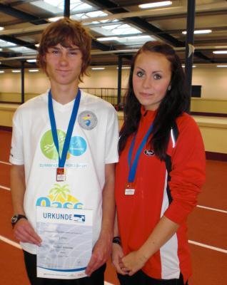 Foto zur Meldung: Landesmeisterschaften- Langstrecke in der Halle