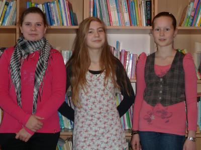 Foto zur Meldung: Anna-Lena gewann den Vorlesepreis