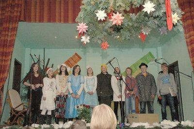 Foto zur Meldung: Weihnachtliche Stimmung in der Bauernschänke