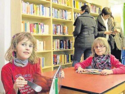 Foto zur Meldung: Bücherei als Ort der kulturellen Begegnung