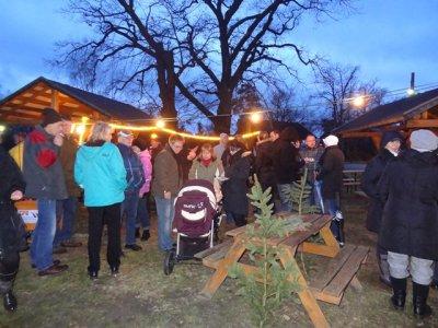 Weihnachtlicher Glühweinnachmittag in Paplitz