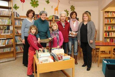 Foto zur Meldung: Bücherei präsentiert sich in neuen Räumen