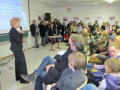Foto zur Meldung: Kantschule informiert: Zahlreiche Besucher zu Tag der offenen Tür