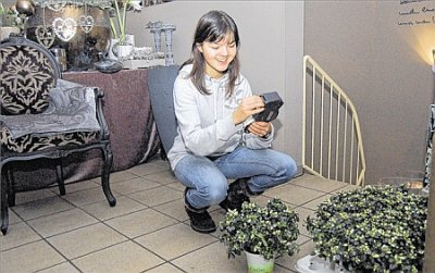 Foto zur Meldung: Inklusion im Blumenladen, erschienen in den Bramscher Nachrichten, 5.Januar 2012