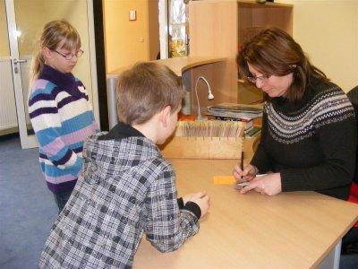 Foto zu Meldung: Eröffnung der Kinderbibliothek im Neubau