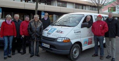 Foto zu Meldung: Stadt und Autohaus Nix spenden CityBus an EfA