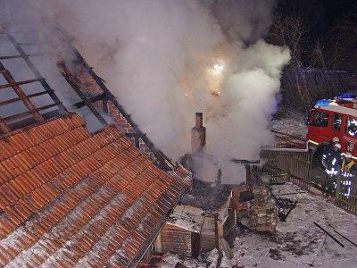 Foto zu Meldung: Brandeinsatz im Ortsteil Pansfelde