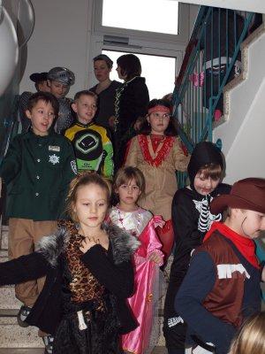 Foto zur Meldung: Fasching an der Grund- und Oberschule Schenkenland
