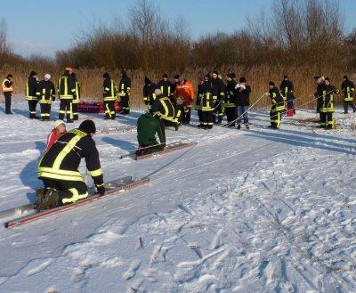Foto zu Meldung: Rettungsübung