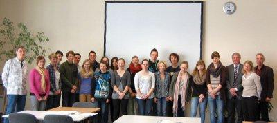 Foto zur Meldung: Falkensee mit im Gepäck: 22 Schülerinnen und Schüler des LMG reisen zum Schüleraustausch in die USA
