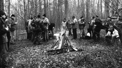 Foto zu Meldung: Brennholzversteigerung der Gemeinde im Januar