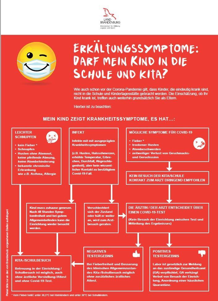 Schnupfen - darf mein Kind zur Schule?