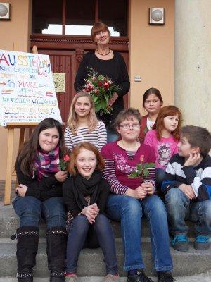 Bild der Meldung: Ausstellung der Kinder-Kunst-AG, die begeistert!